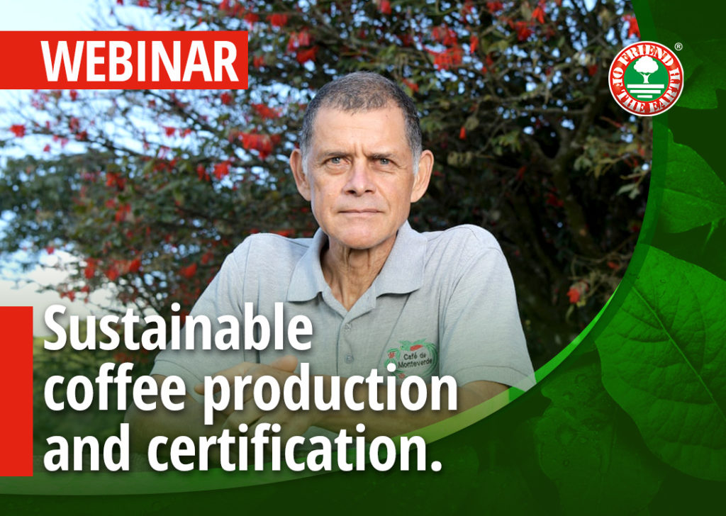 """Sustainable coffee production and certification. Café Monteverde case study in Costa Rica."""