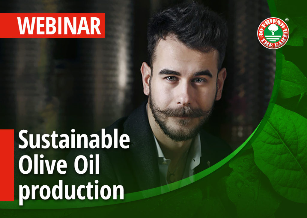 Webinar: Sustainable Olive Oil Production
