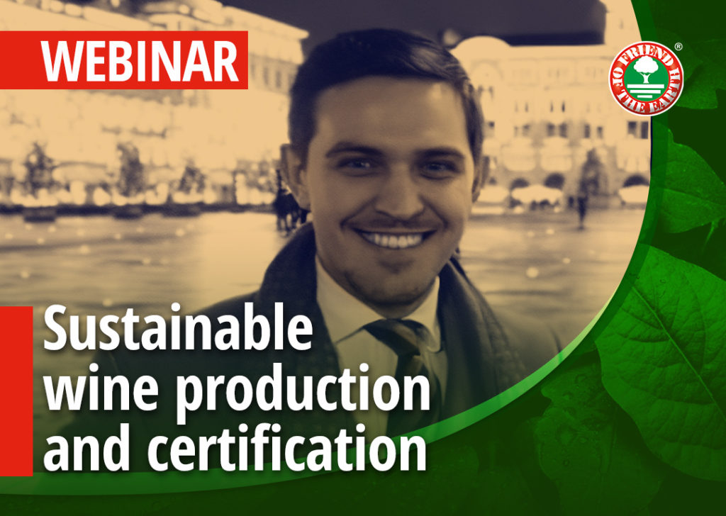 """Sustainable wine production and certification""."