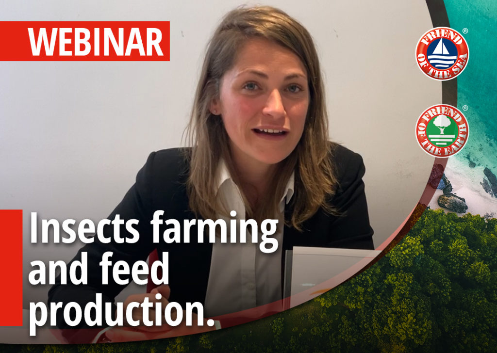 Webinar: Insect Farming and feed production   Case studies