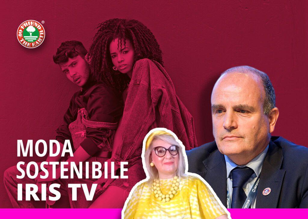 Moda Sostenibile - Intervista Paolo Bray - IRIS TV