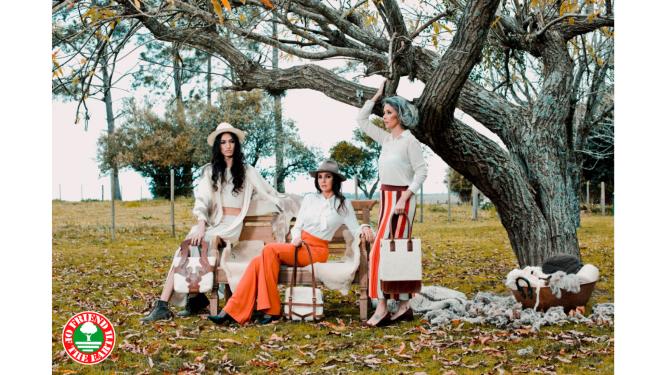 Il fashion etico di Dona Rufina è certificato Friend of the Earth sostenibile, per l'ambiente e per i lavoratori.