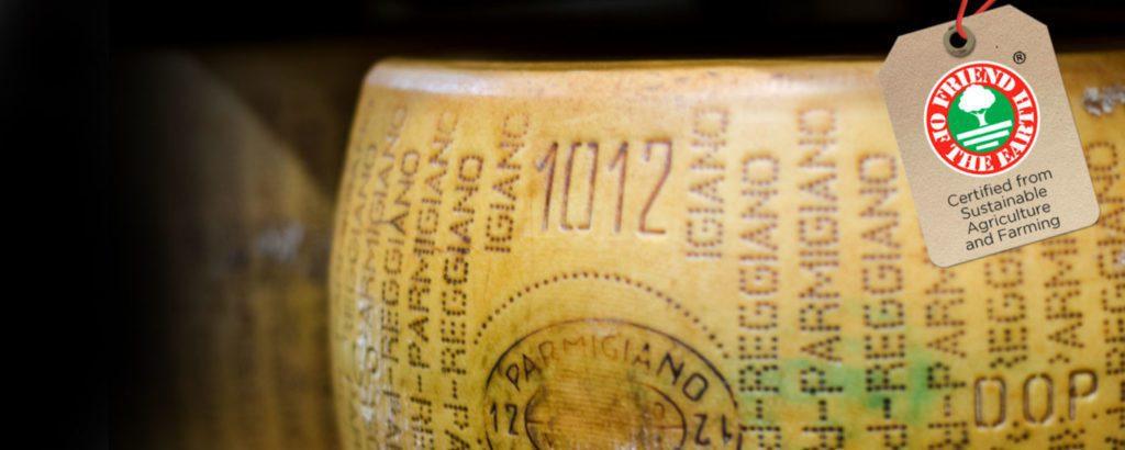 Certificato Friend of the Earth il primo parmigiano sostenibile