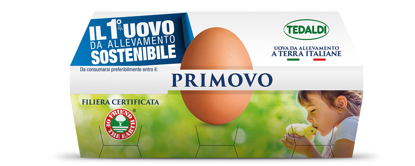 Tedaldi Primovo is the first sustainable egg in Italy. post image